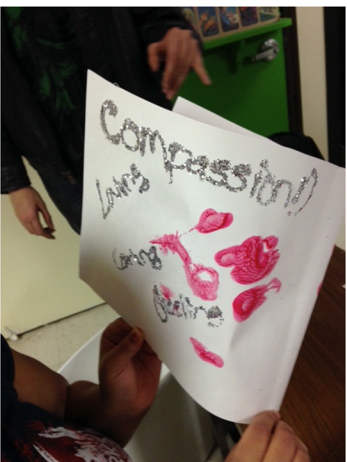 "Compassion means ""loving"" and ""caring"" and ""feeling"" to this HALO youth."